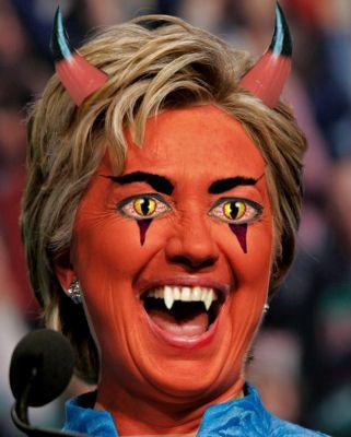 hillary-devil