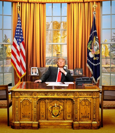 Image result for DONALD TRUMP Gold oval office