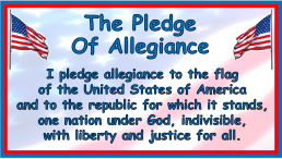Image result for pledge allegiance