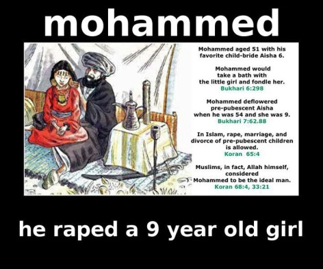 Image result for Islam pedophile verse